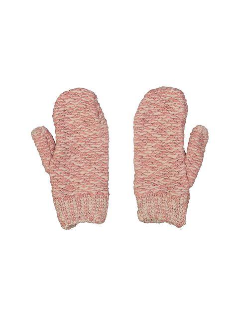 دستکش نخی بدون انگشت مردانه - صورتي و سفيد - 3