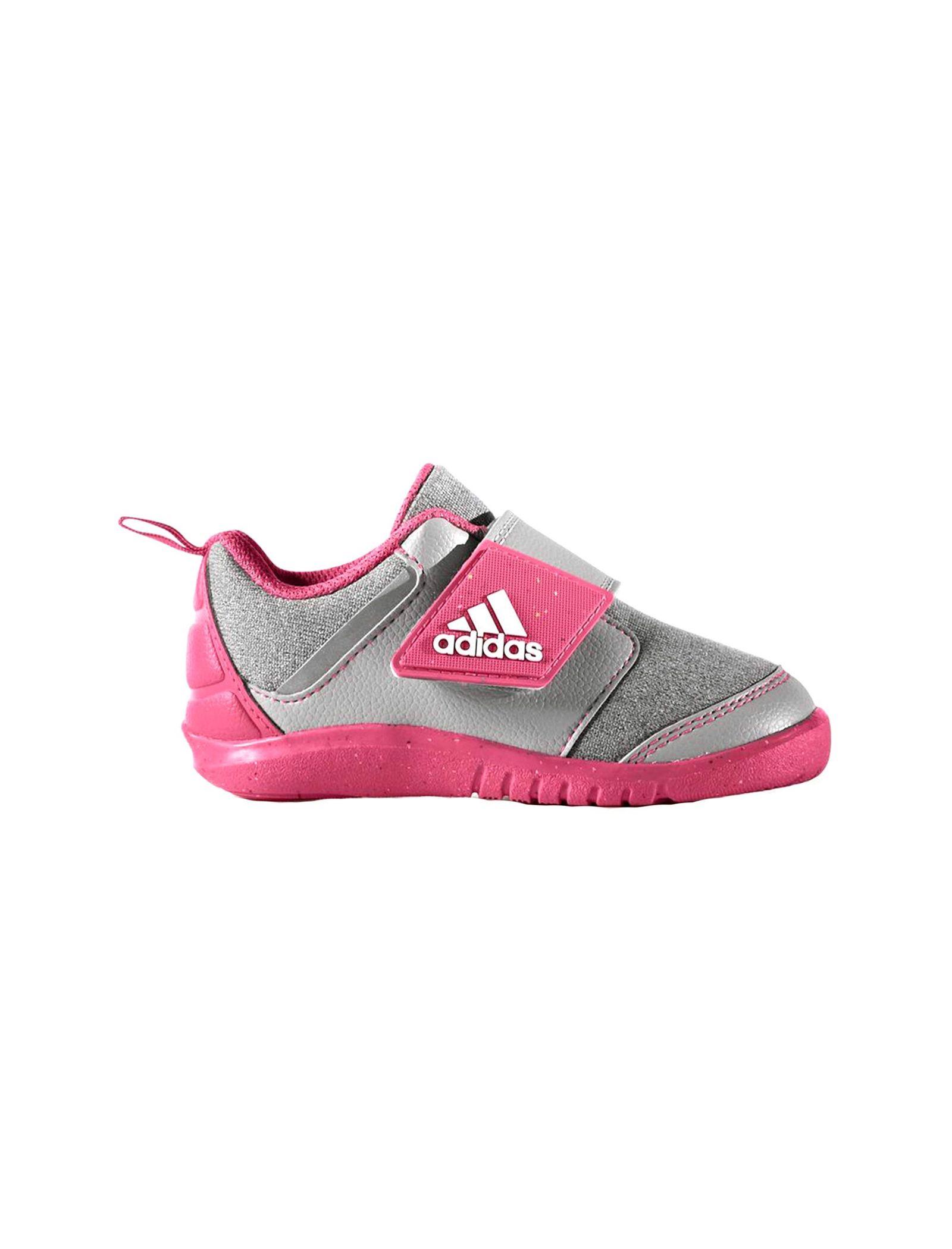 کفش تمرین چسبی دخترانه FortaPlay - آدیداس - صورتي - 1