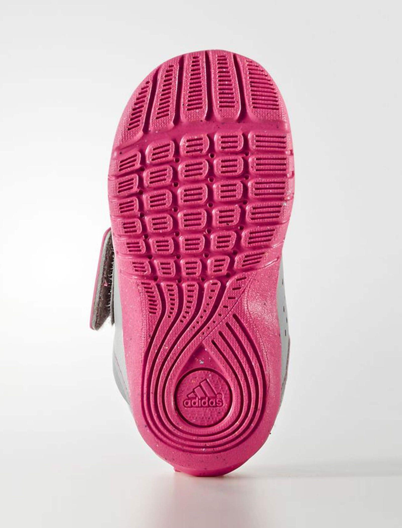 کفش تمرین چسبی دخترانه FortaPlay - آدیداس - صورتي - 2