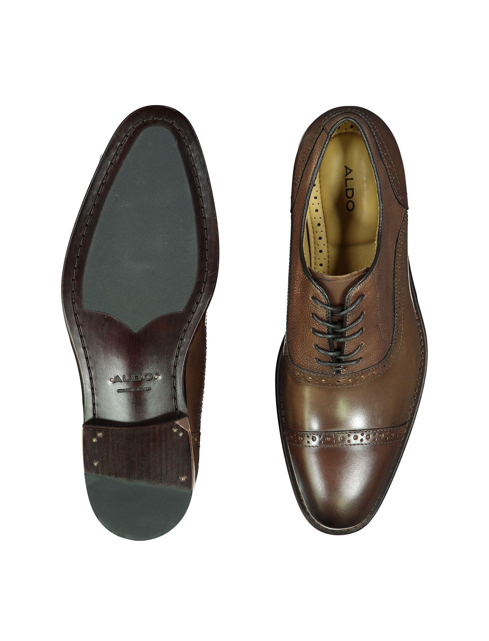 کفش رسمی چرم مردانه - آلدو - قهوه اي - 2