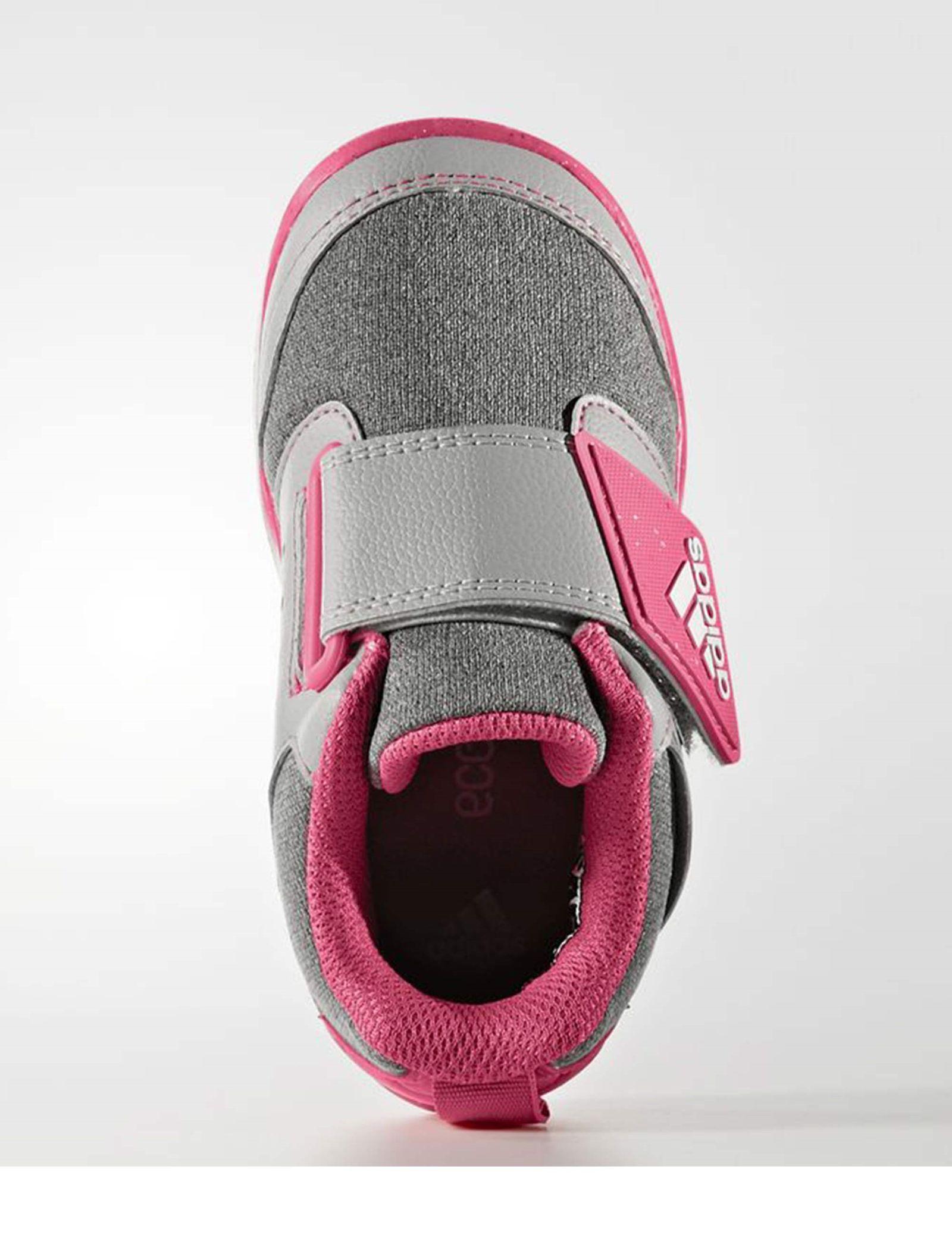 کفش تمرین چسبی دخترانه FortaPlay - آدیداس - صورتي - 3
