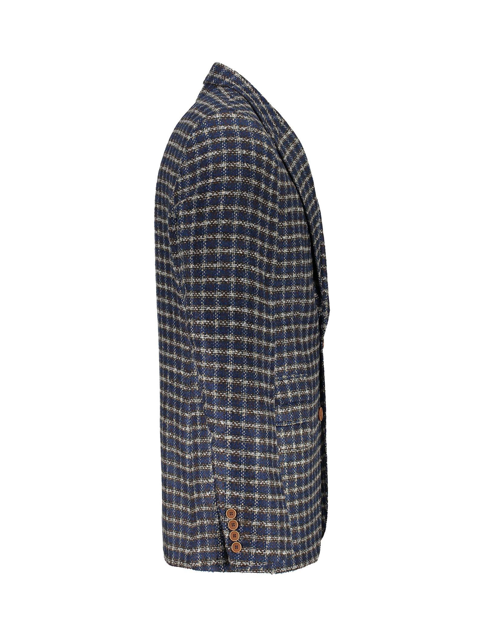 کت تک  غیر رسمی مردانه - زاگرس پوش - سرمه اي و قهوه اي - 3