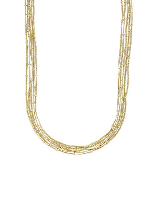 گردنبند زنجیری زنانه Slinky Layered