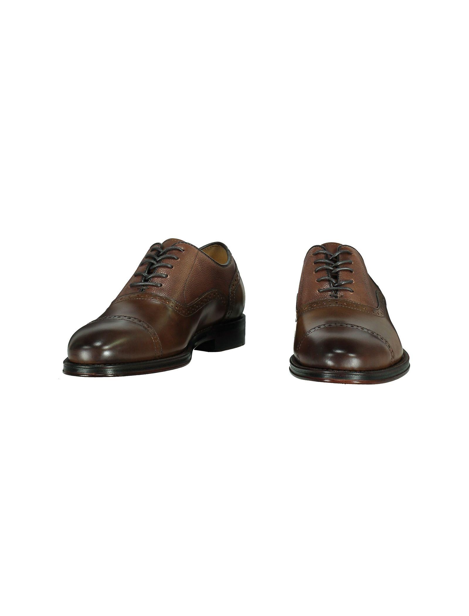 کفش رسمی چرم مردانه - آلدو - قهوه اي - 4