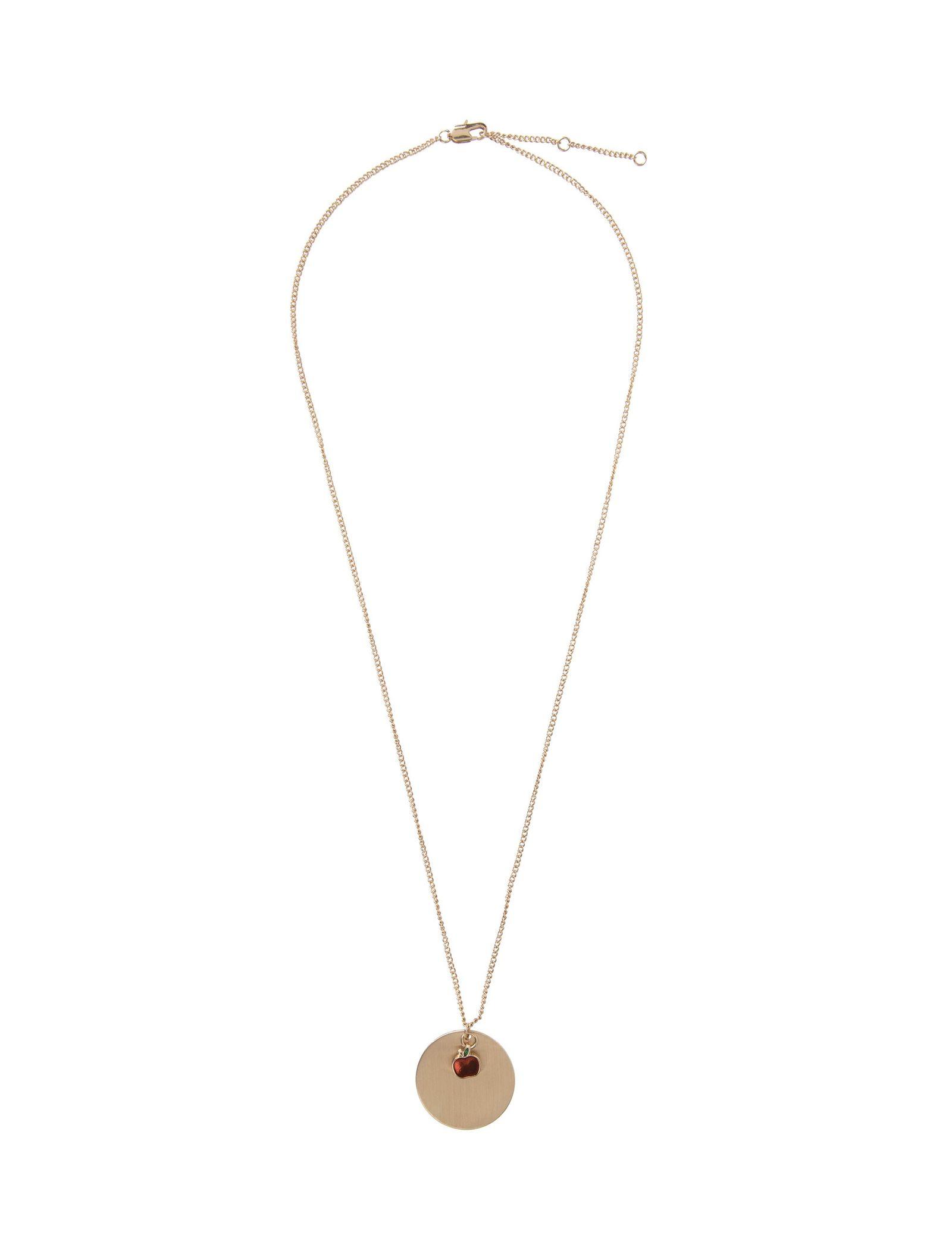 گردنبند آویز زنانه - پی سز - طلايي - 1