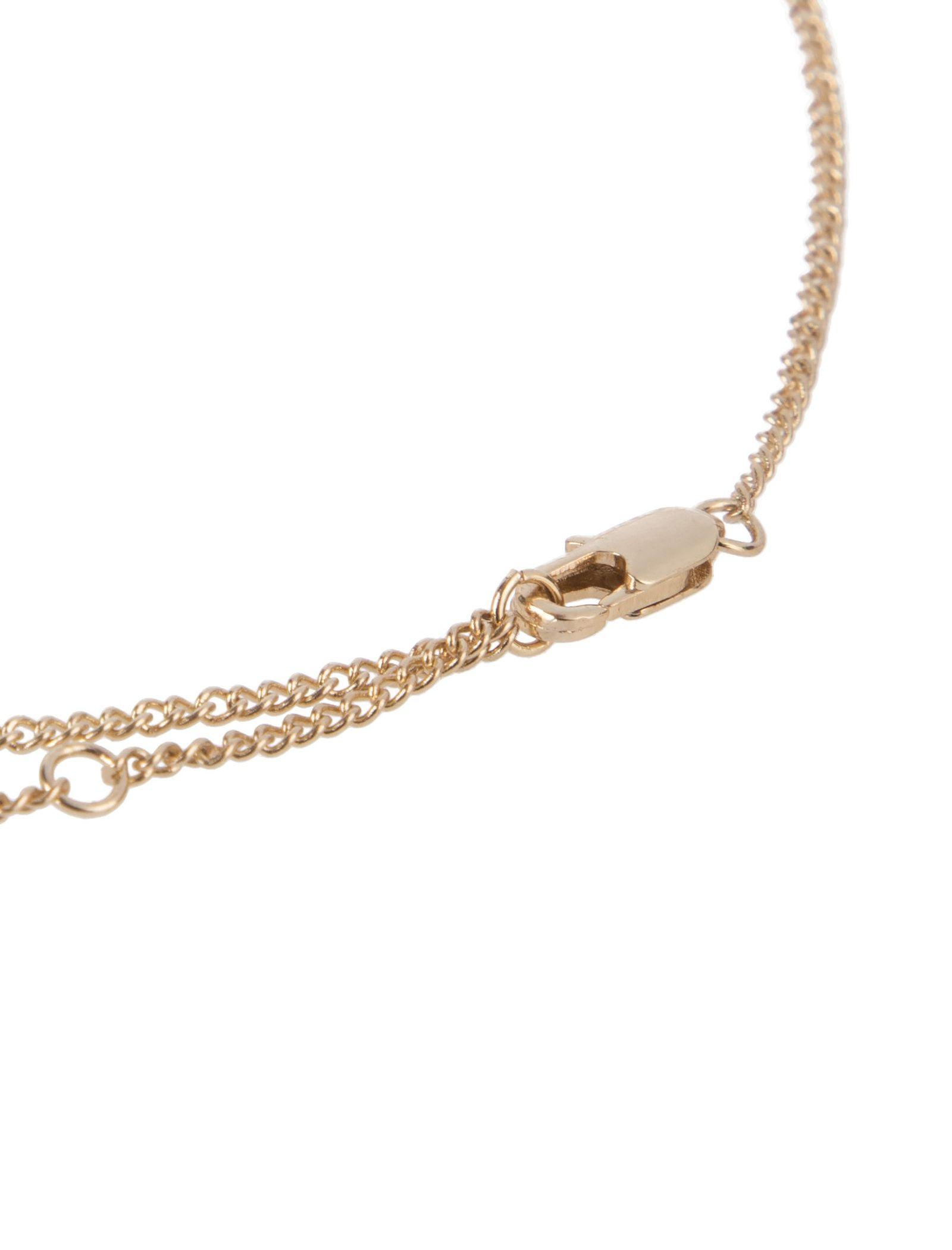 گردنبند آویز زنانه - پی سز - طلايي - 3