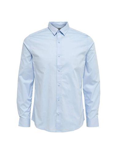 پیراهن نخی آستین بلند مردانه - اونلی اند سانز
