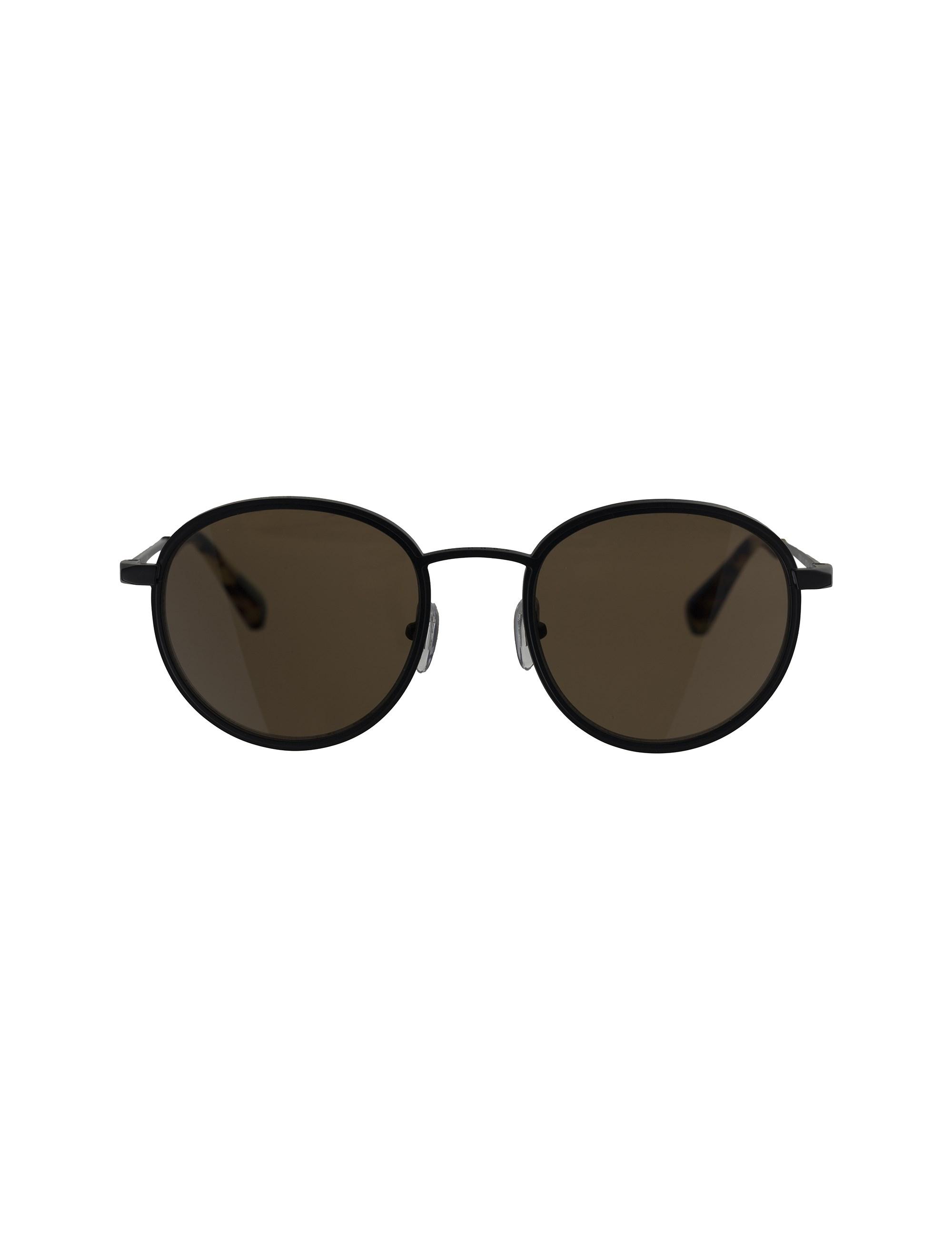 عینک آفتابی گرد بزرگسال - ساندرو - مشکي        - 1