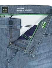 شلوار جین راسته مردانه Drake2 - باس - آبي - 5