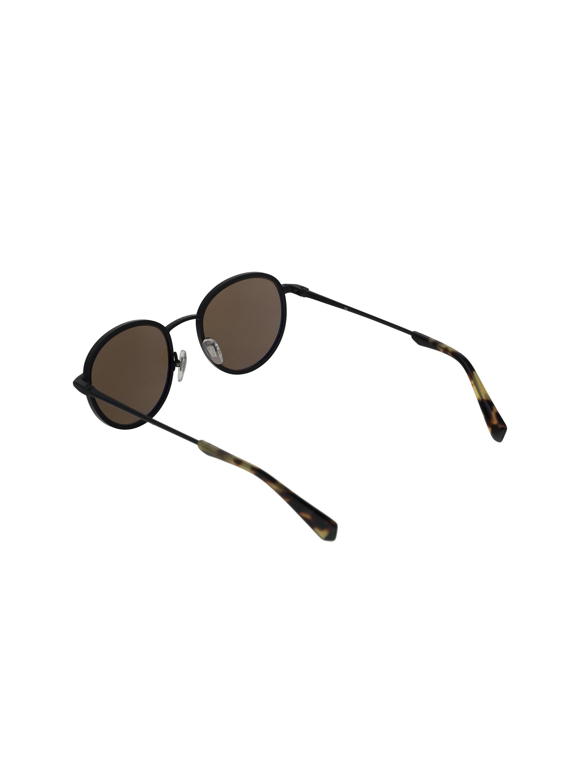 عینک آفتابی گرد بزرگسال - مشکي        - 4