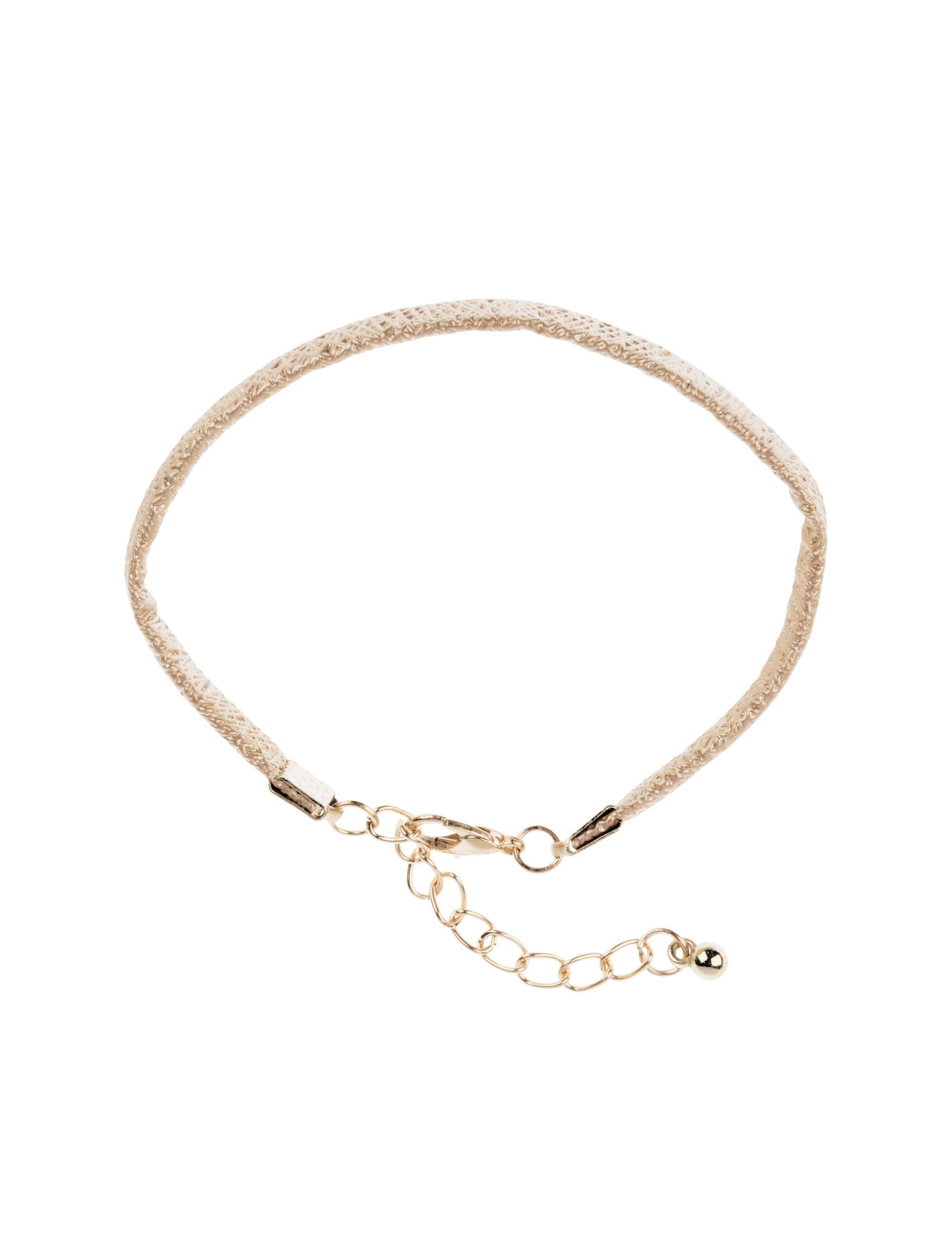 دستبند زنانه بسته 3 عددی - کوتون - طلايي/ طوسي - 11