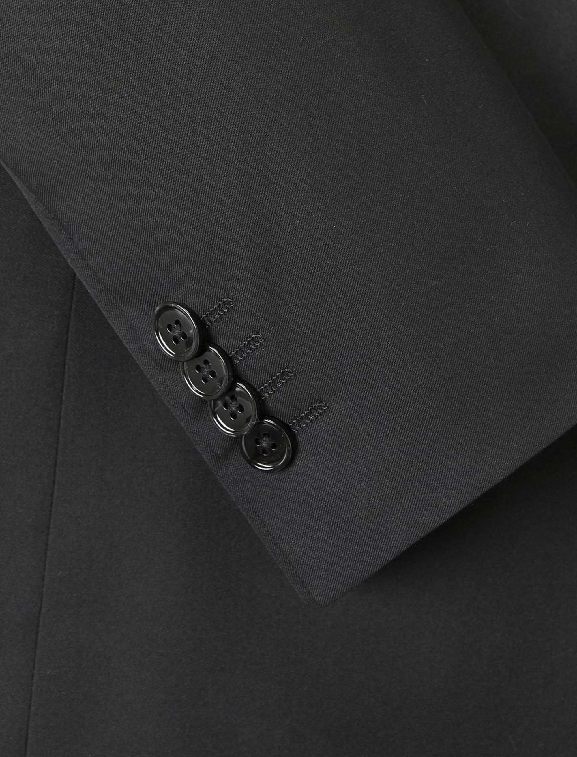 کت تک رسمی مردانه - مانگو - مشکي - 6