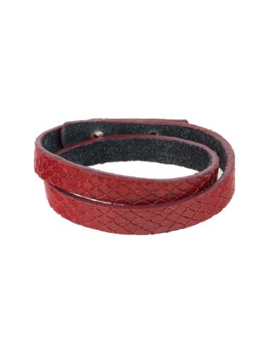 دستبند چرم زنانه - ماکو دیزاین