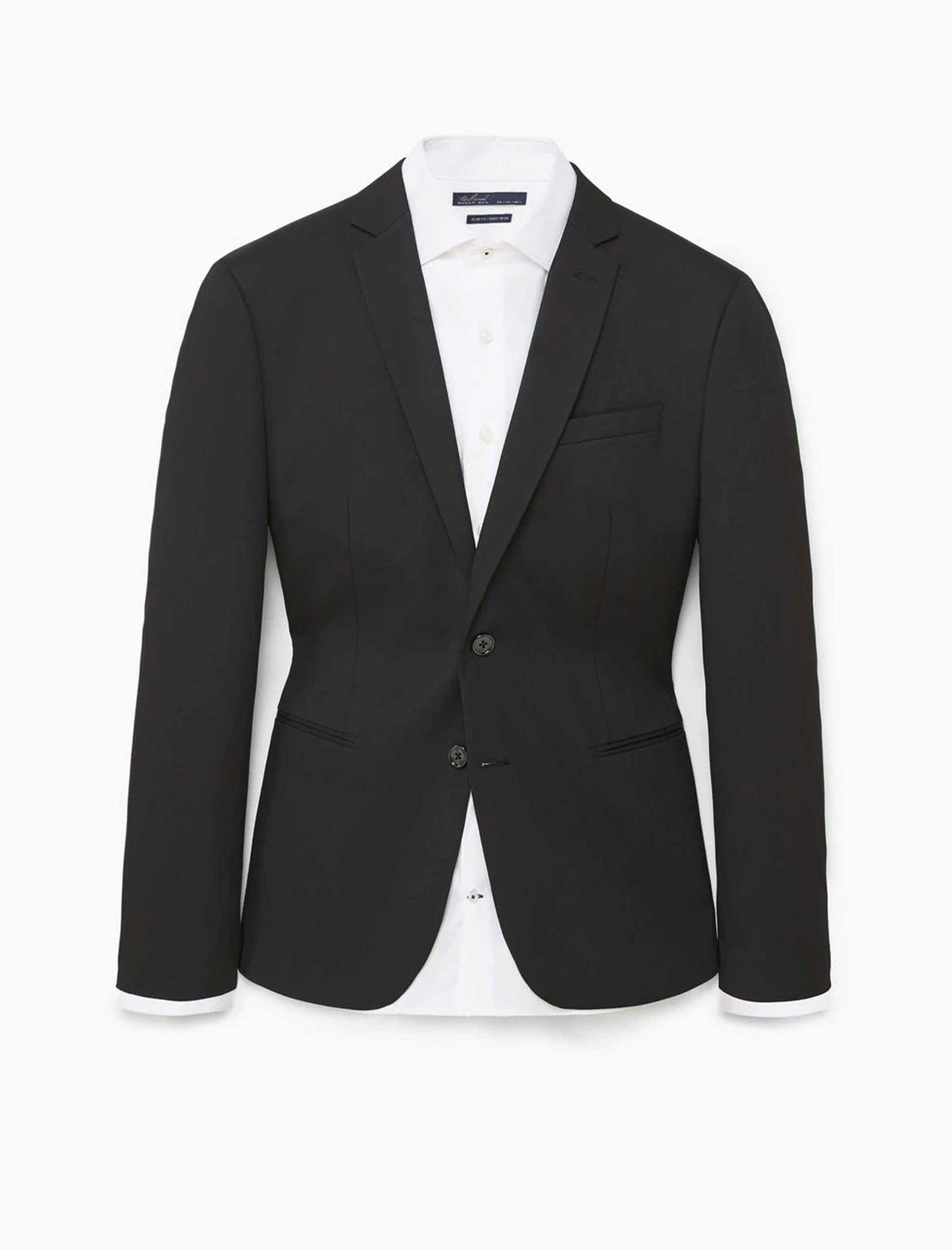 کت تک رسمی مردانه - مانگو - مشکي - 8