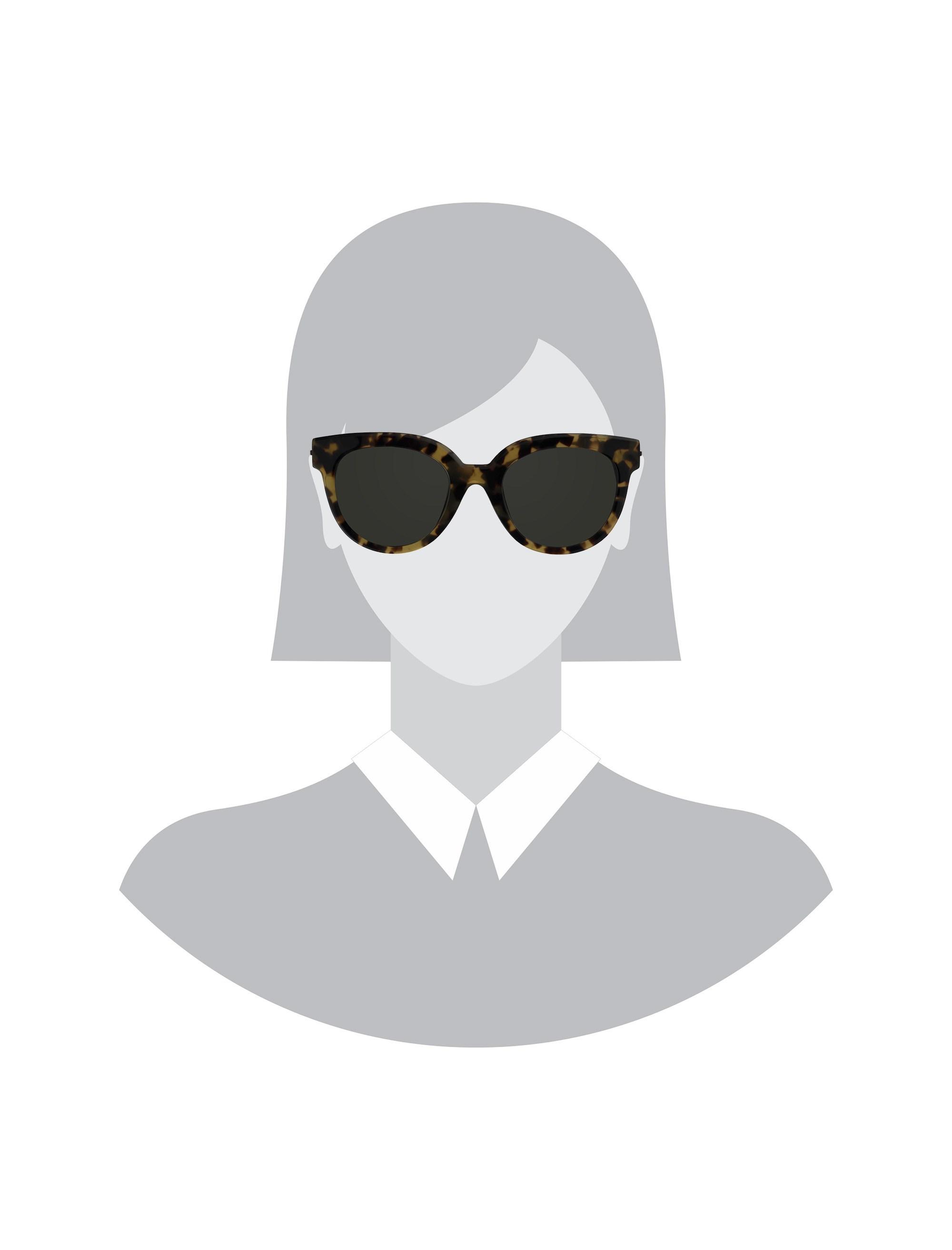عینک آفتابی گربه ای زنانه - ساندرو - قهوه اي       - 5