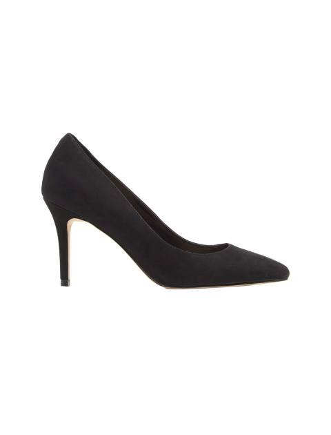 کفش پاشنه بلند نبوک زنانه - مشکي  - 1