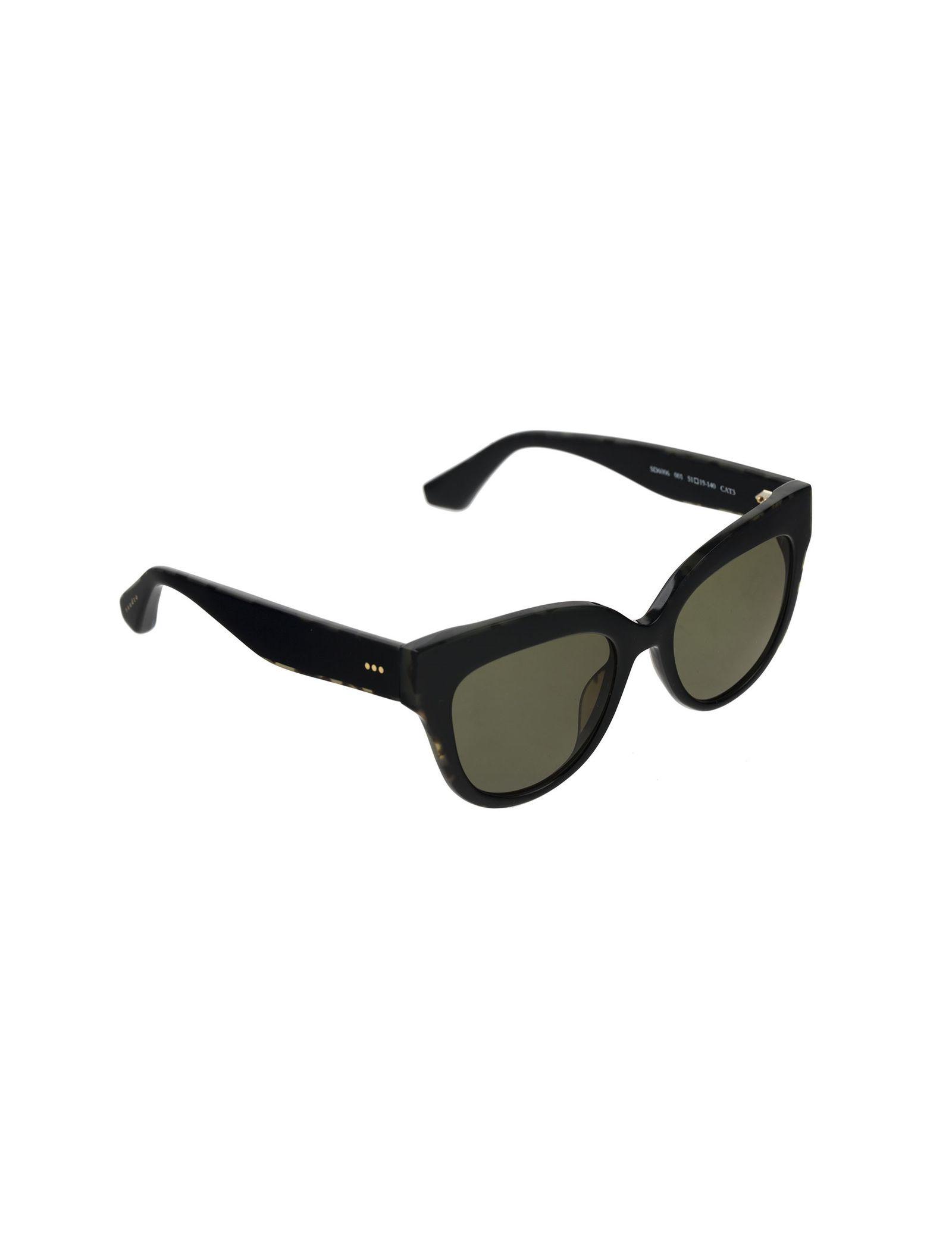 عینک آفتابی گربه ای زنانه - ساندرو - مشکي        - 2