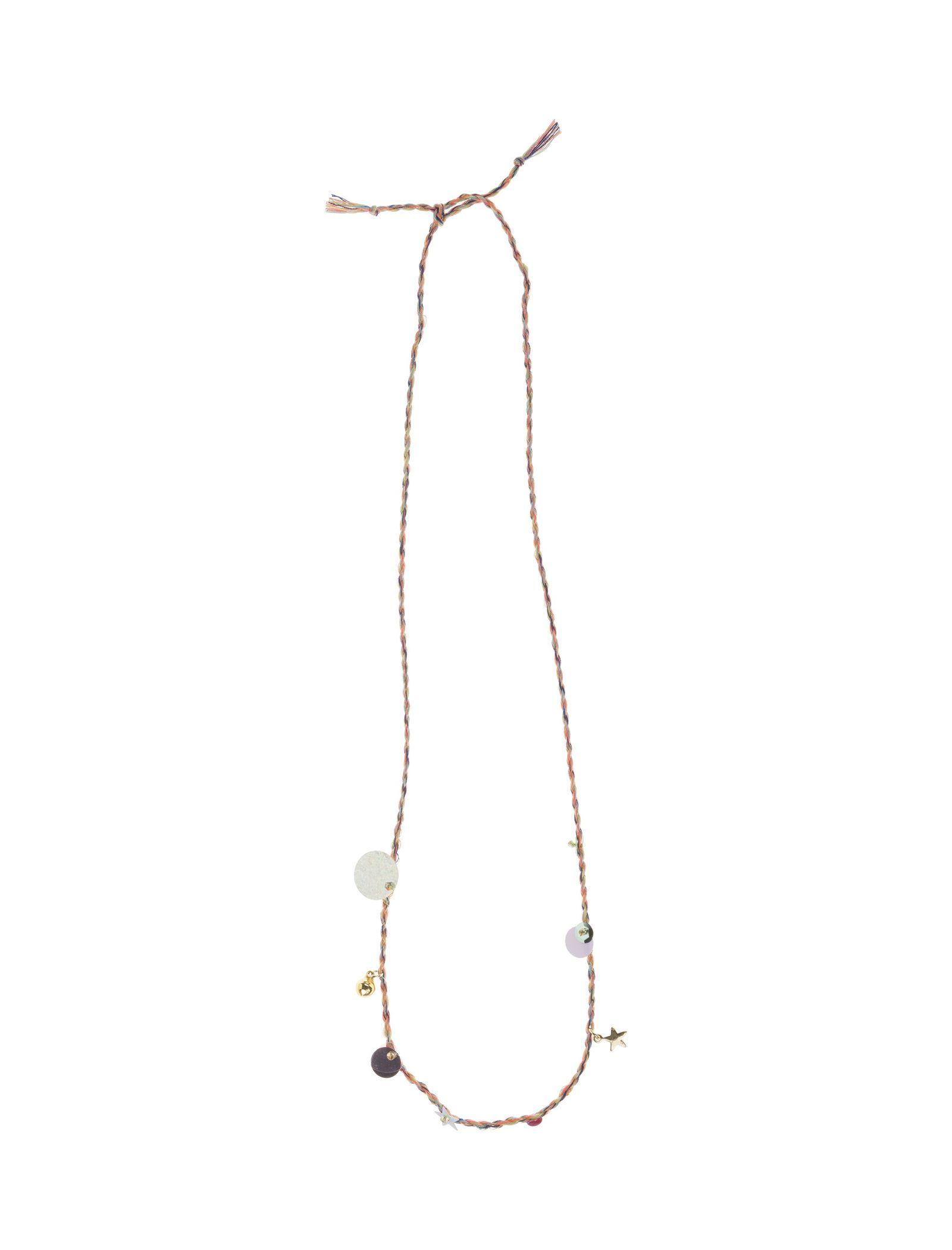 گردنبند بندی دخترانه - مانگو - نارنجي - 1