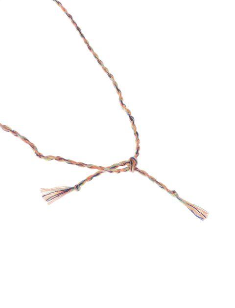 گردنبند بندی دخترانه - مانگو - نارنجي - 3