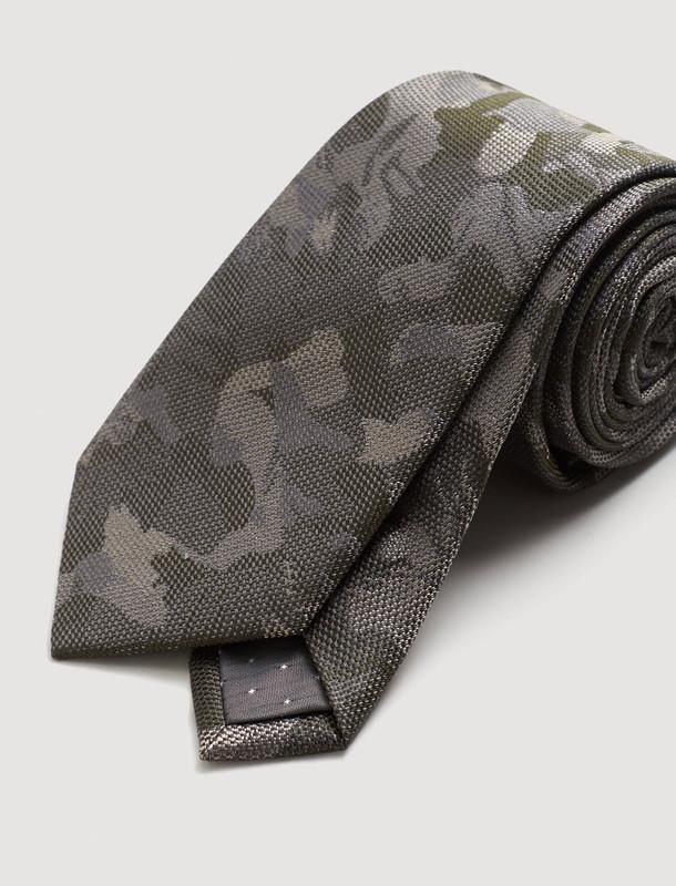 کراوات ابریشم طرح دار مردانه