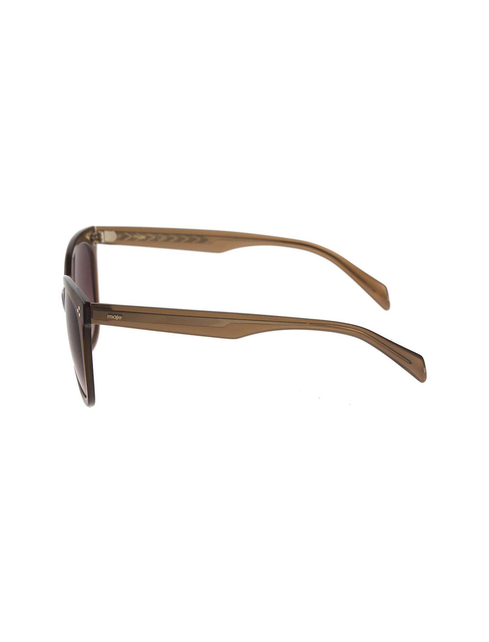 عینک آفتابی ویفرر زنانه - ماژ - قهوه اي - 3