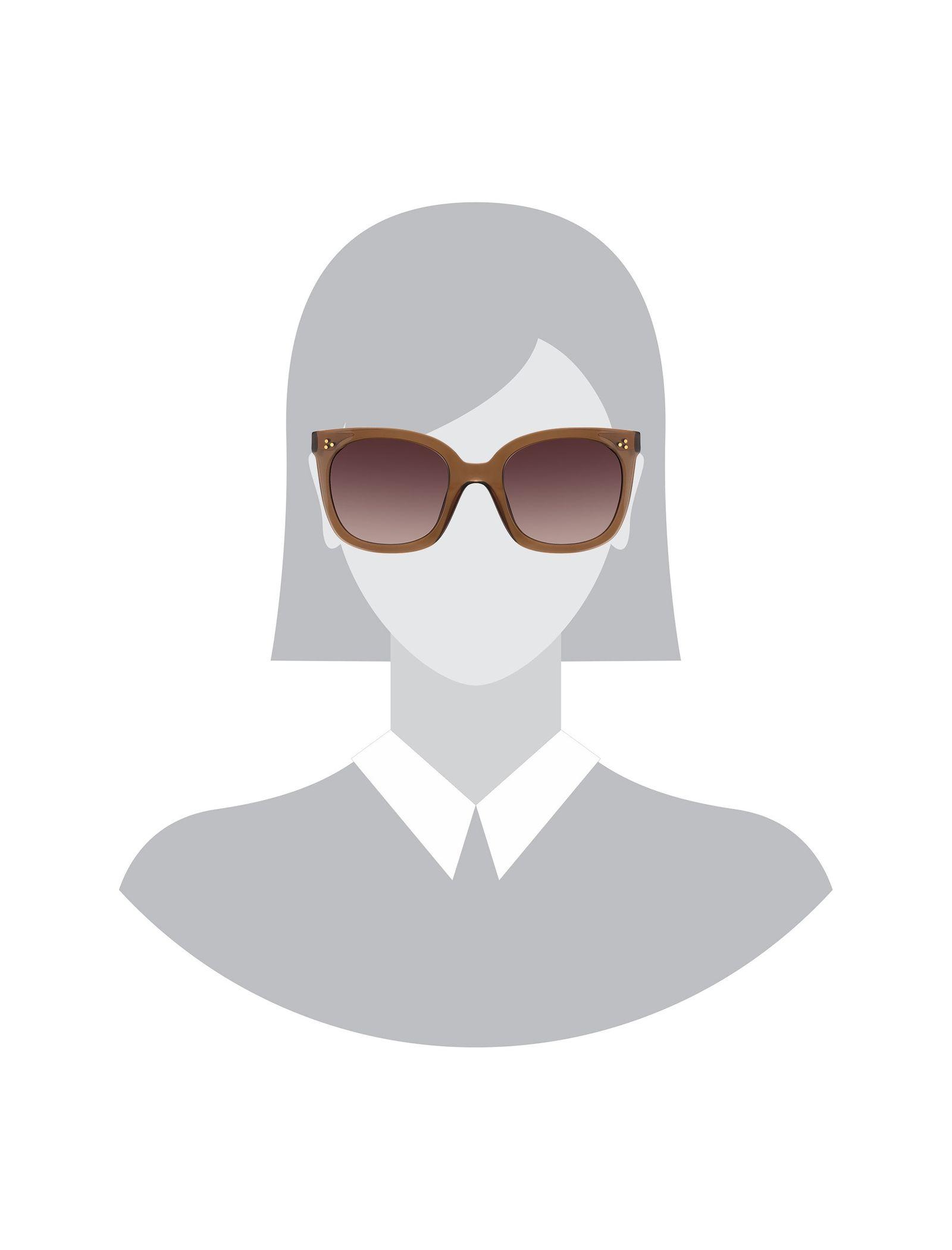 عینک آفتابی ویفرر زنانه - ماژ - قهوه اي - 5