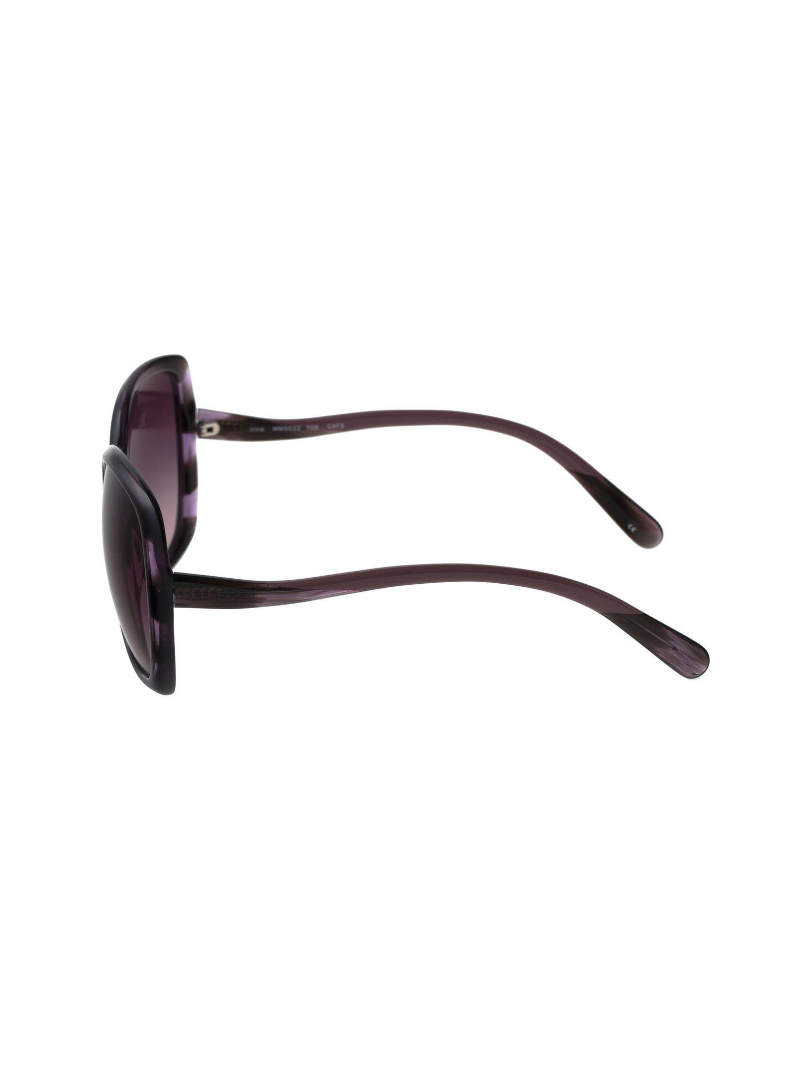 عینک آفتابی مربعی زنانه - ماریم اکو - بنفش   - 3
