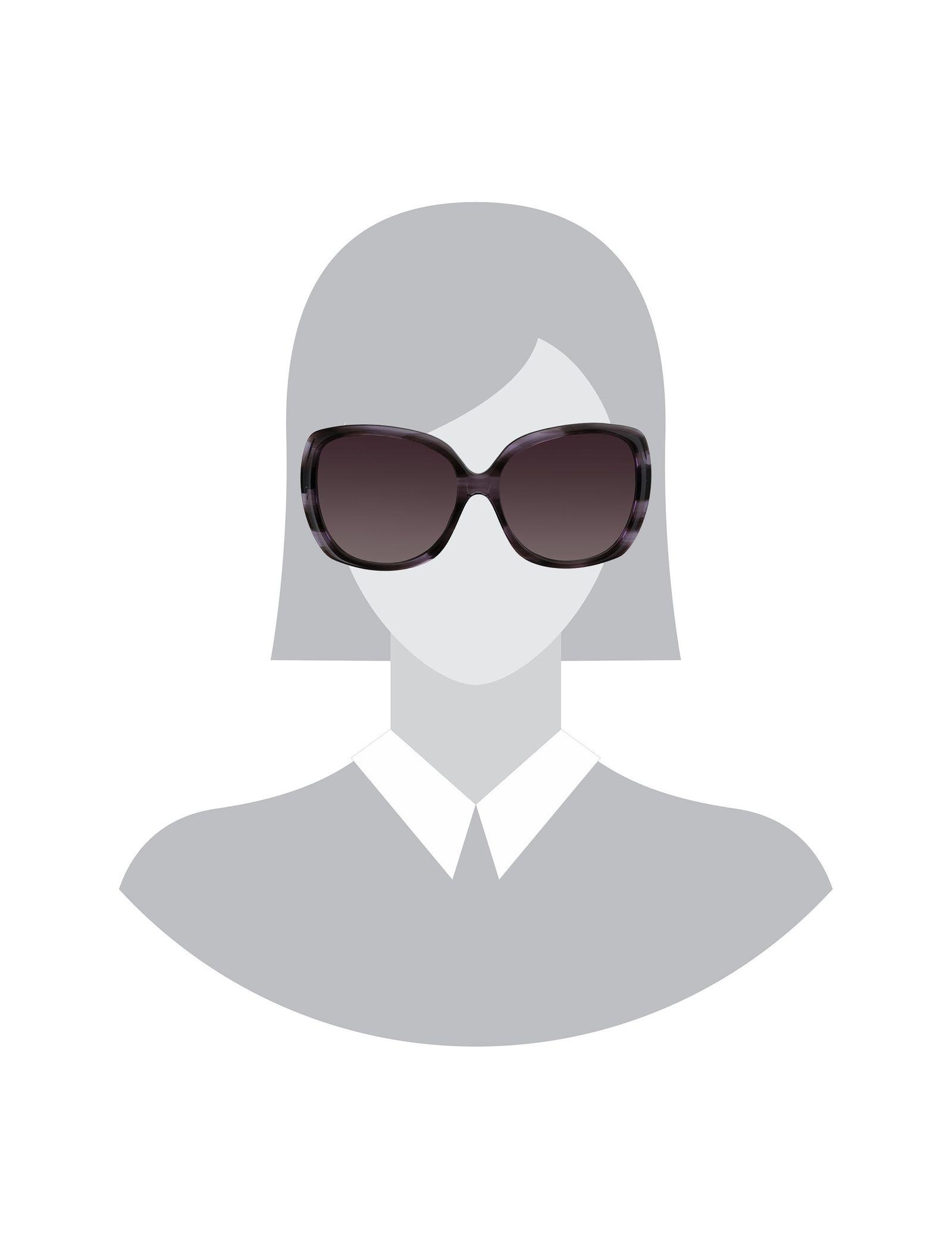 عینک آفتابی مربعی زنانه - ماریم اکو - بنفش   - 4
