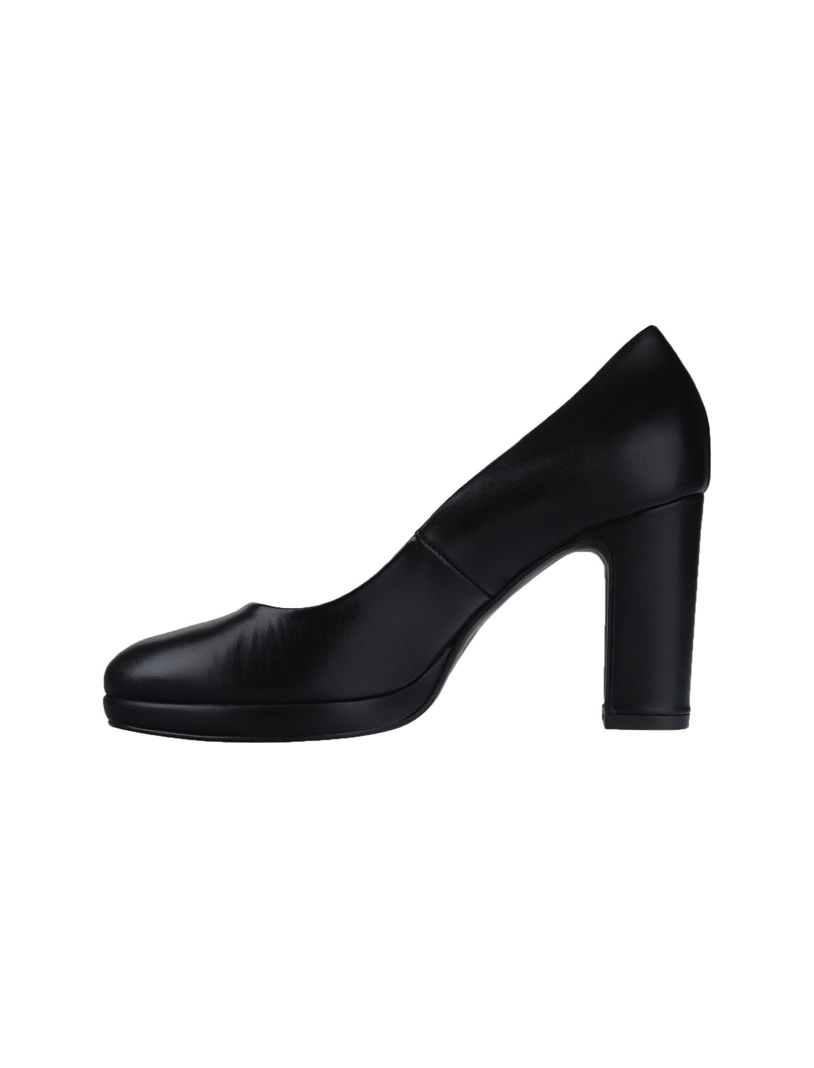 کفش چرم پاشنه بلند زنانه Julliet - دنیلی - مشکي - 2