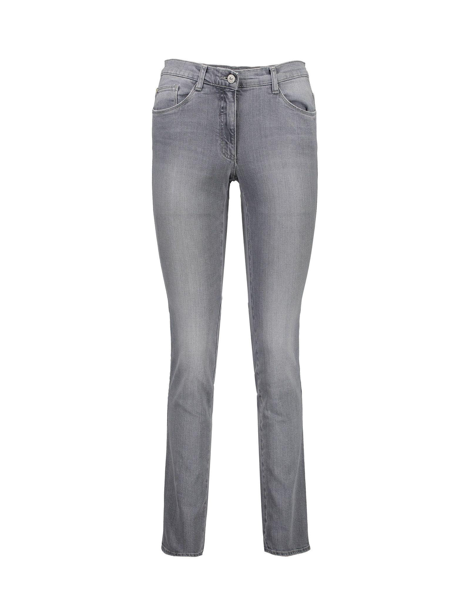 شلوار جین راسته زنانه BX-MARY - برکس - طوسي - 6