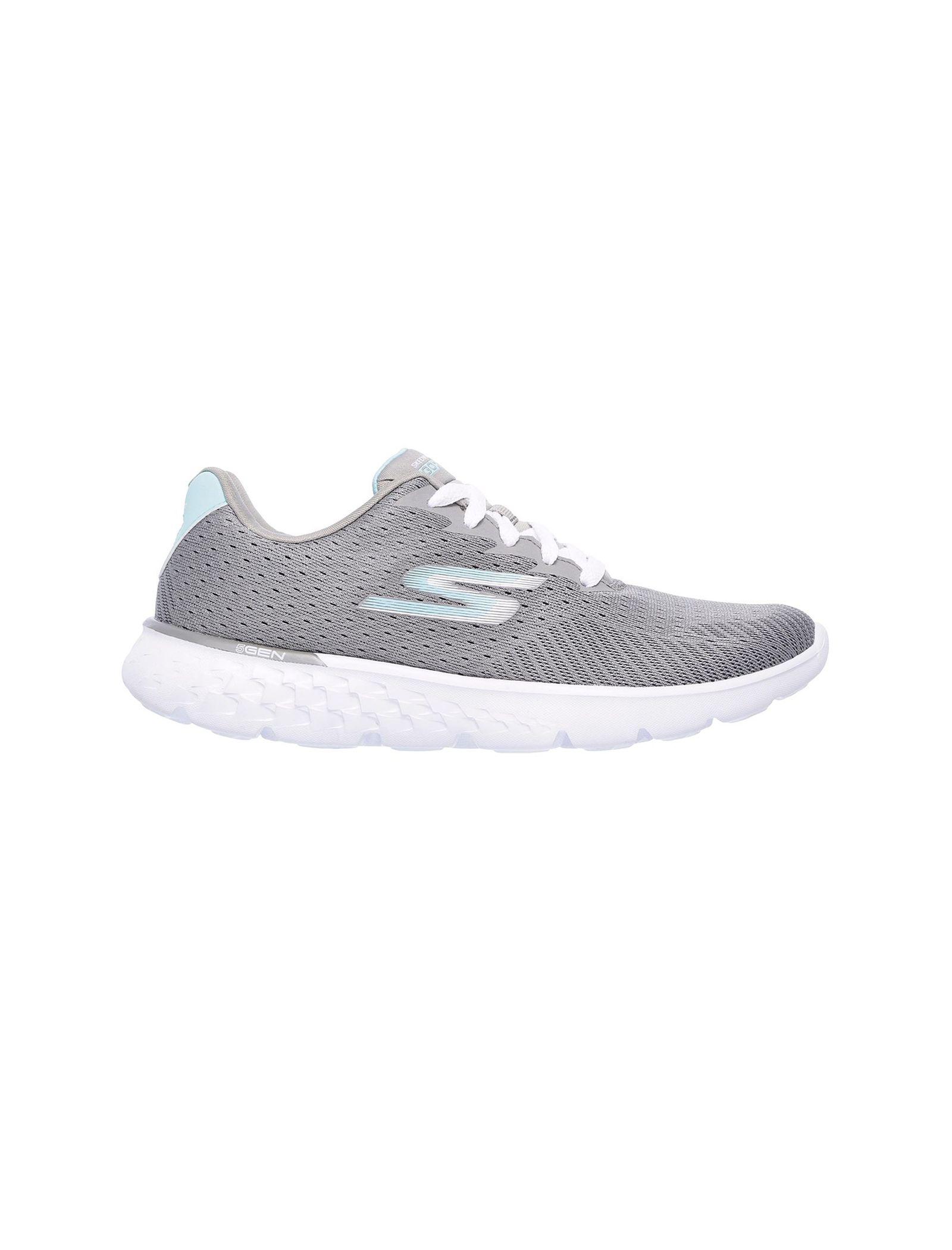 کفش دویدن بندی زنانه GoRun 400 Sole - اسکچرز - طوسي - 1