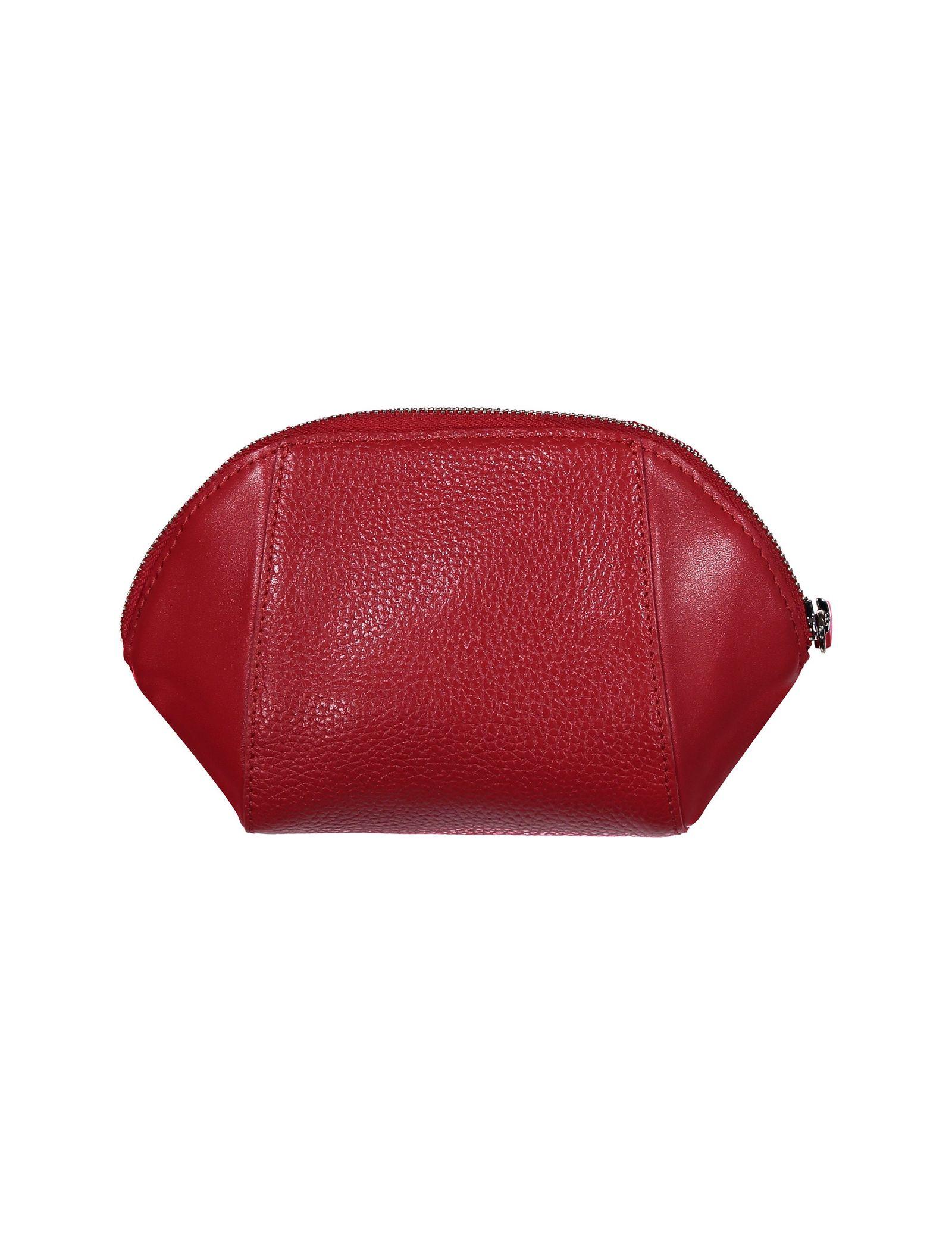 کیف لوازم آرایش چرم زنانه - چرم مشهد - قرمز - 2
