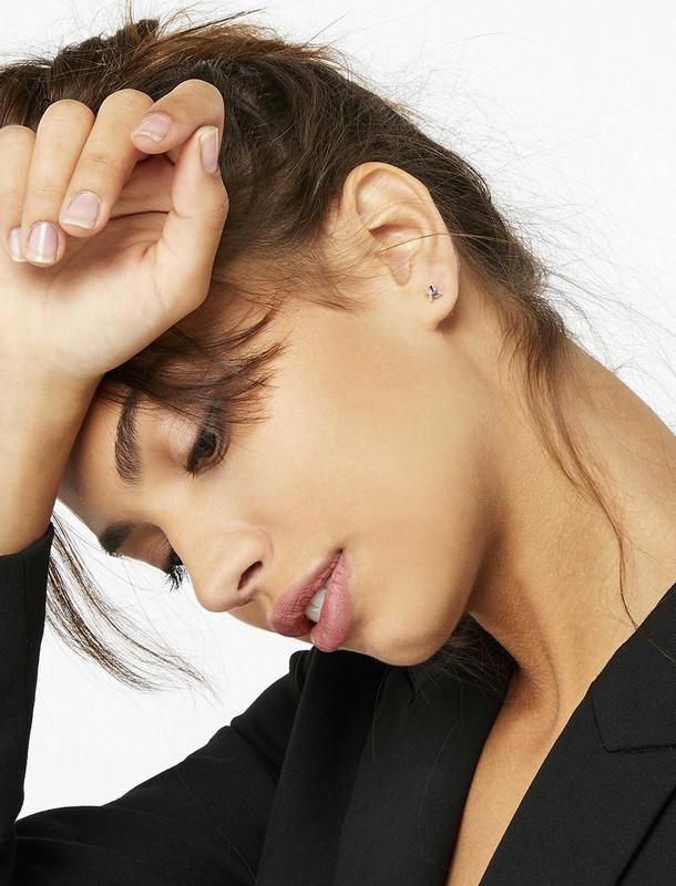 گوشواره نقره میخی زنانه - اکسسوریز