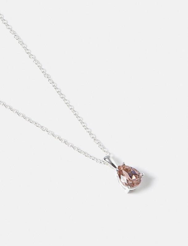گردنبند نقره آویز زنانه - اکسسوریز