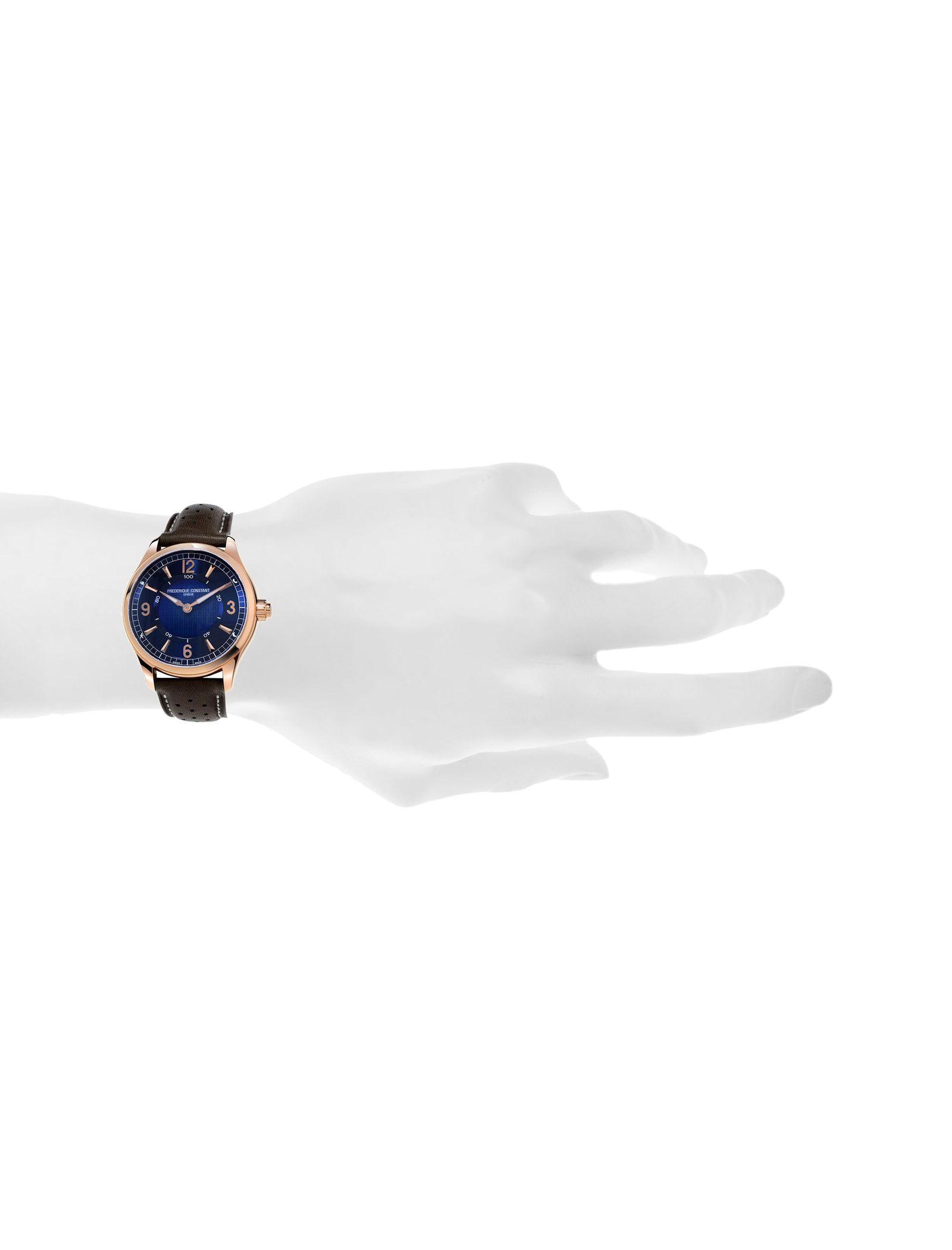 ساعت مچی هوشمند مردانه - فدریکو کانستنت - قهوه اي       - 5