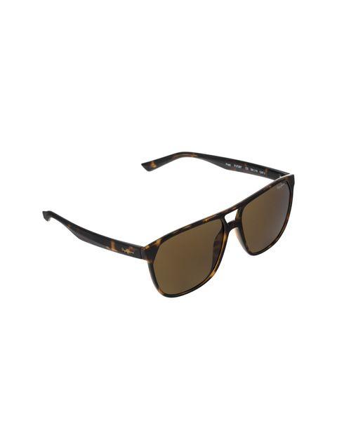 عینک آفتابی خلبانی مردانه - قهوه اي        - 2