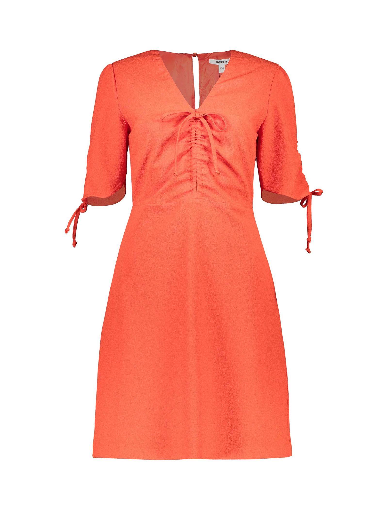 پیراهن کوتاه زنانه - کوتون - قرمز - 1