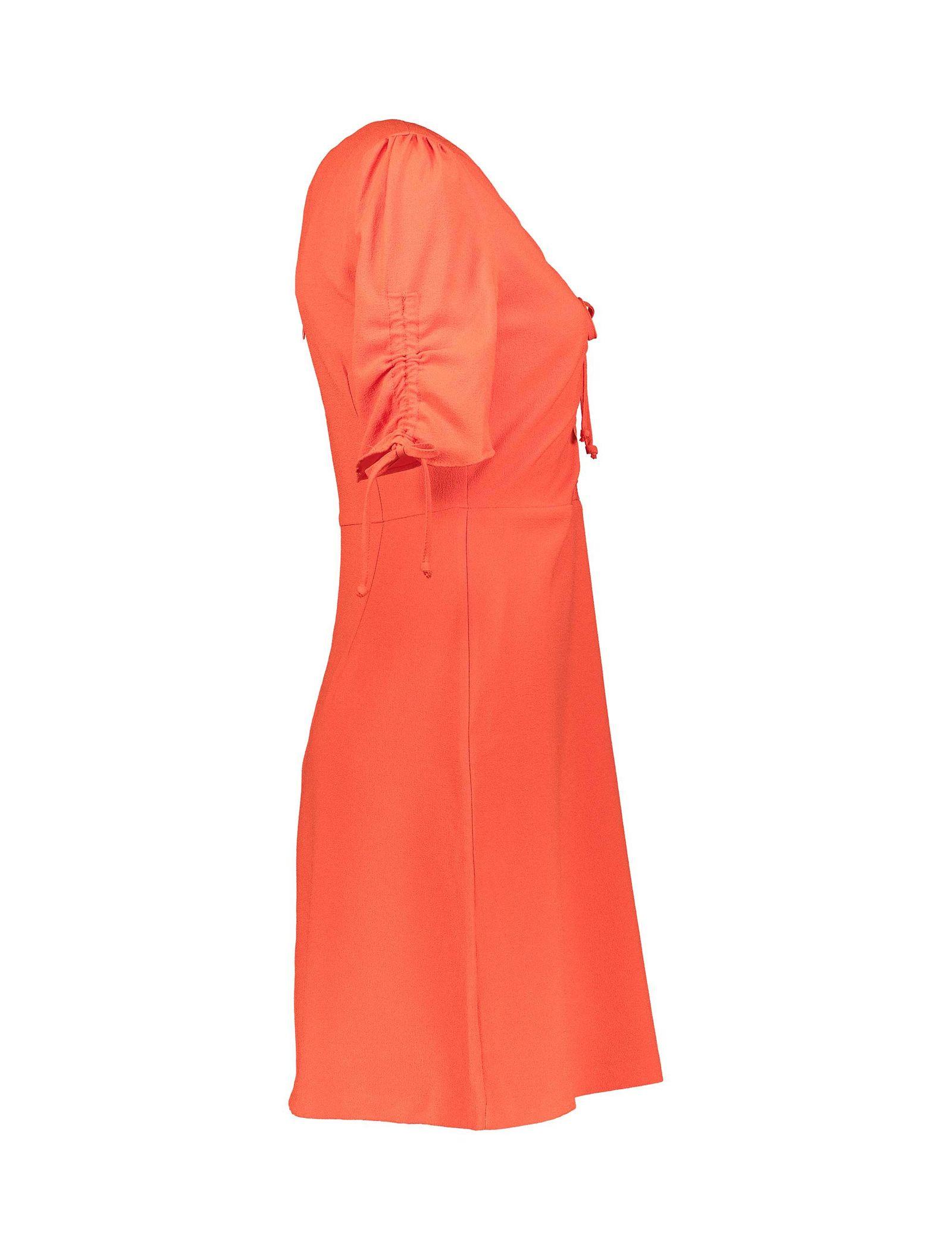پیراهن کوتاه زنانه - کوتون - قرمز - 3