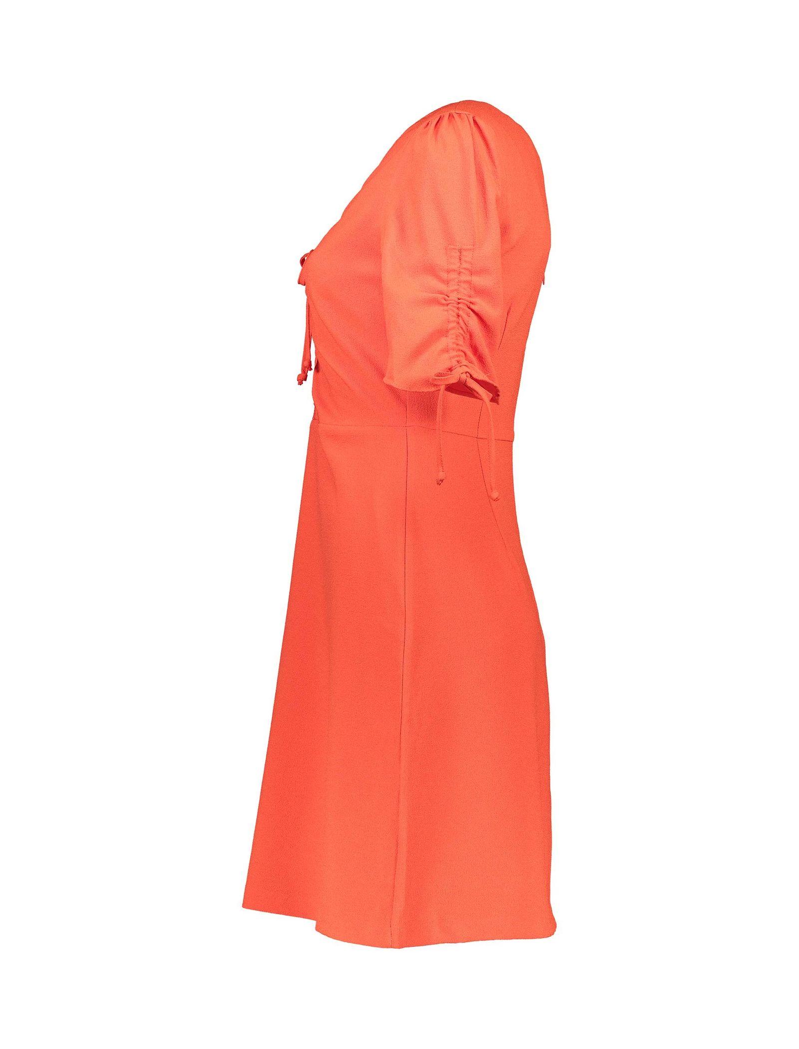 پیراهن کوتاه زنانه - کوتون - قرمز - 4