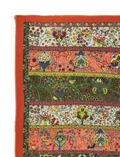 روسری طرح دار زنانه - میس اسمارت - نارنجي - 3
