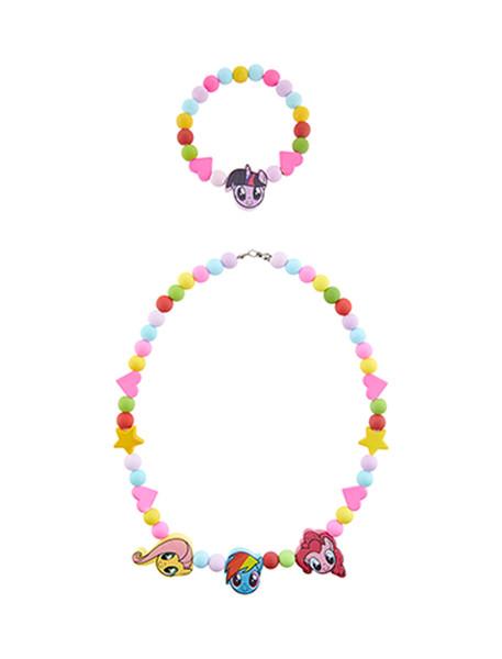 گردنبند و دستبند دخترانه - اکسسوریز