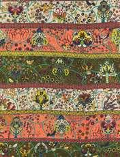 روسری طرح دار زنانه - میس اسمارت - نارنجي - 4