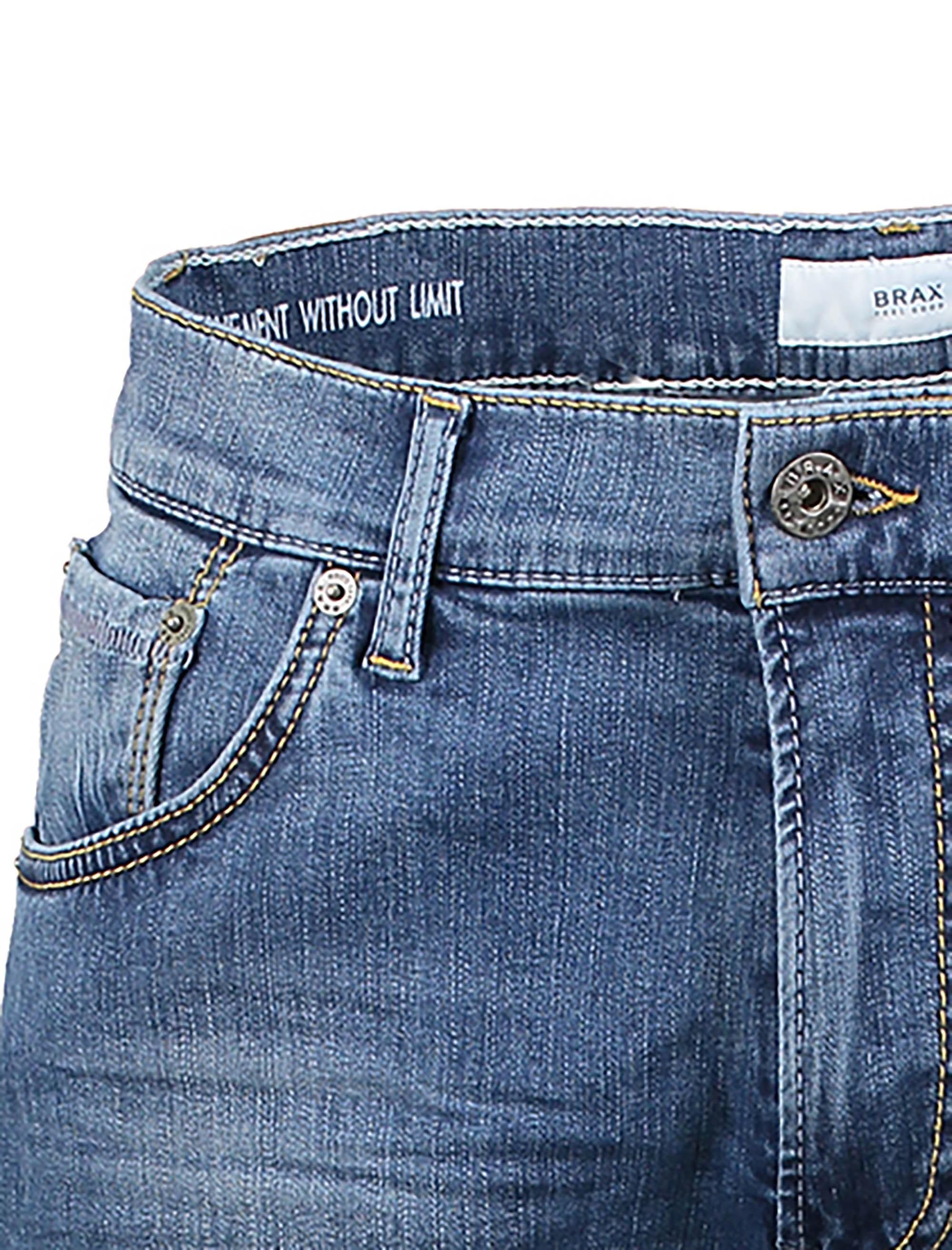 شلوار جین جذب مردانه - برکس - آبي  - 5