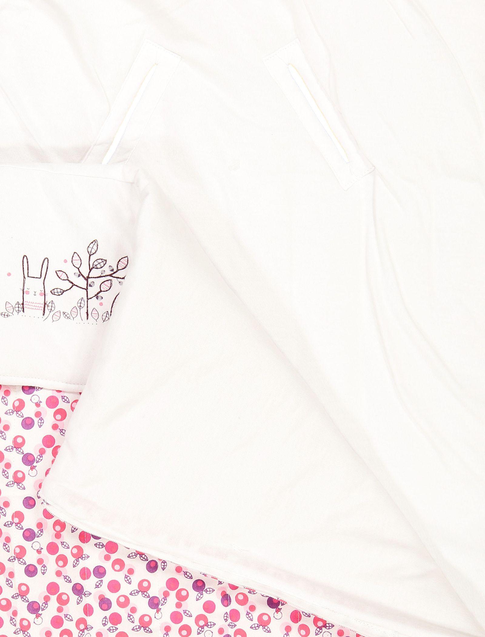 کیسه خواب نوزادی - ارکسترا - سفيد و سرخابي - 7