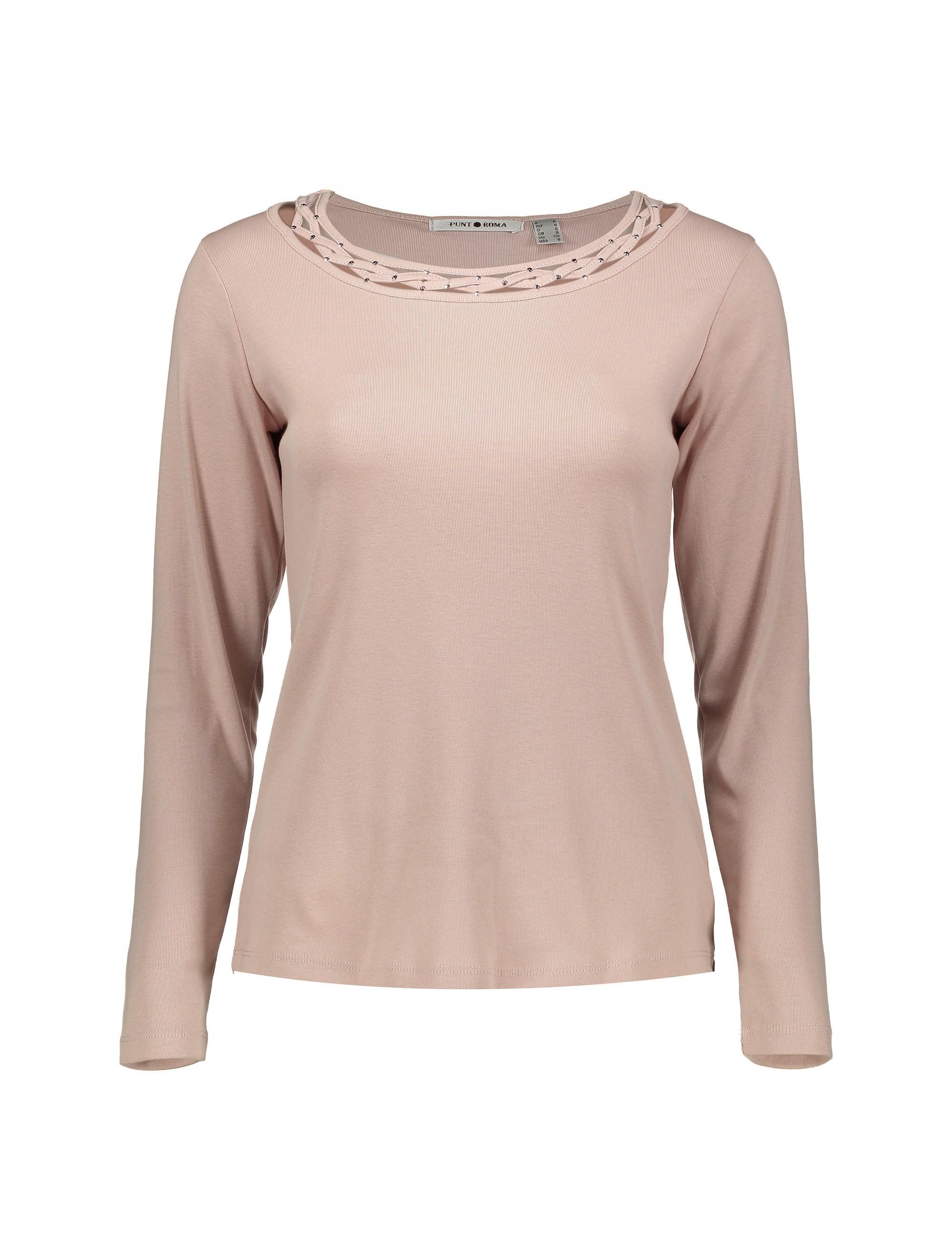 تی شرت آستین بلند زنانه – پونت روما  Women Long Sleeve T-shirt – Punt Roma