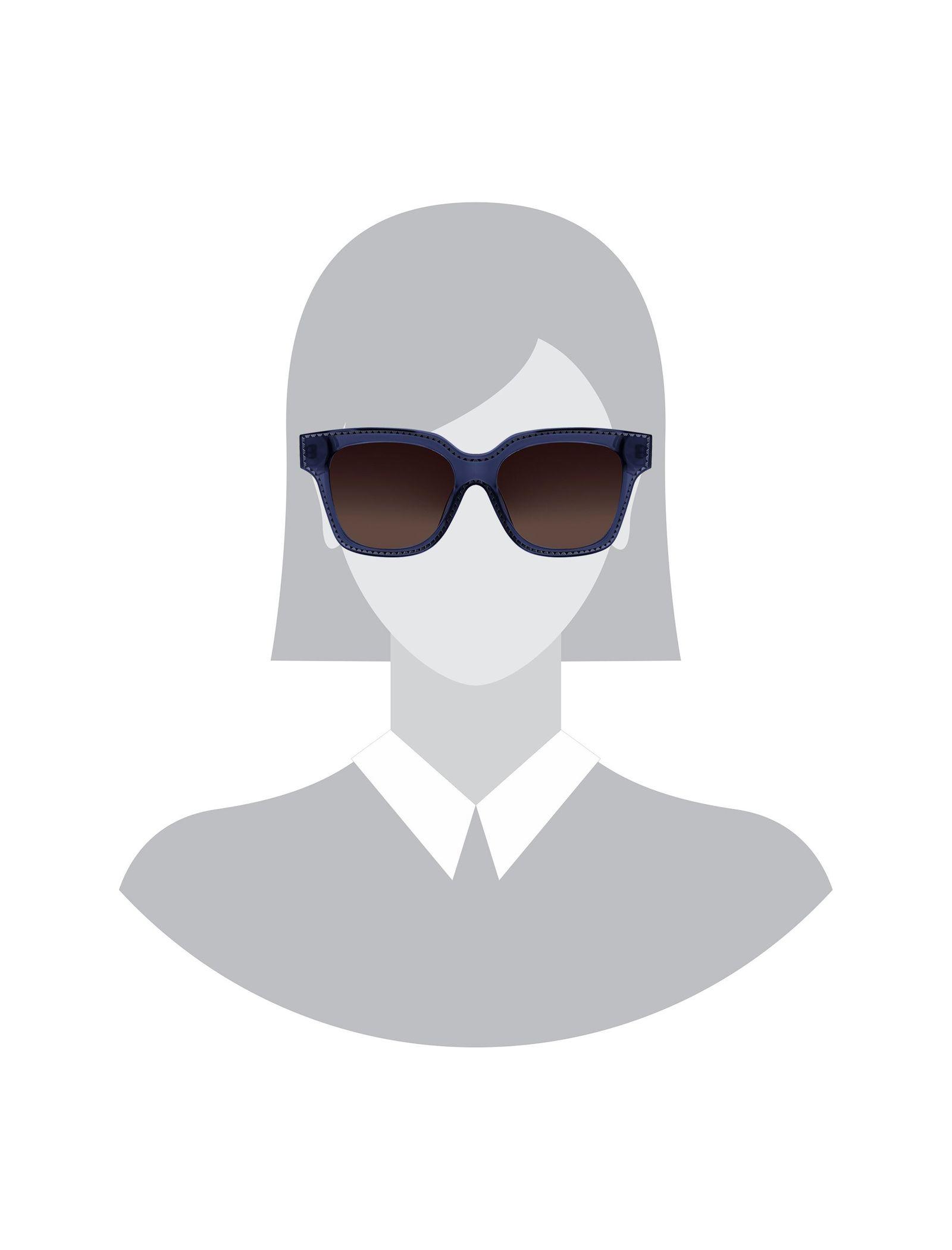 عینک آفتابی ویفرر زنانه - کریستین لاکروآ - آبي - 4