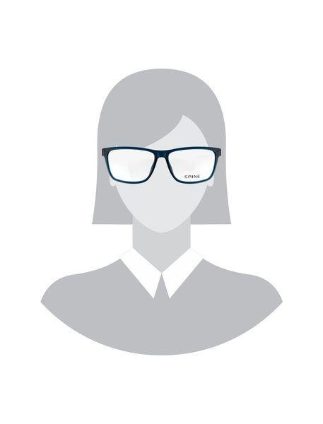 عینک طبی ویفرر زنانه - سرمه اي - 5