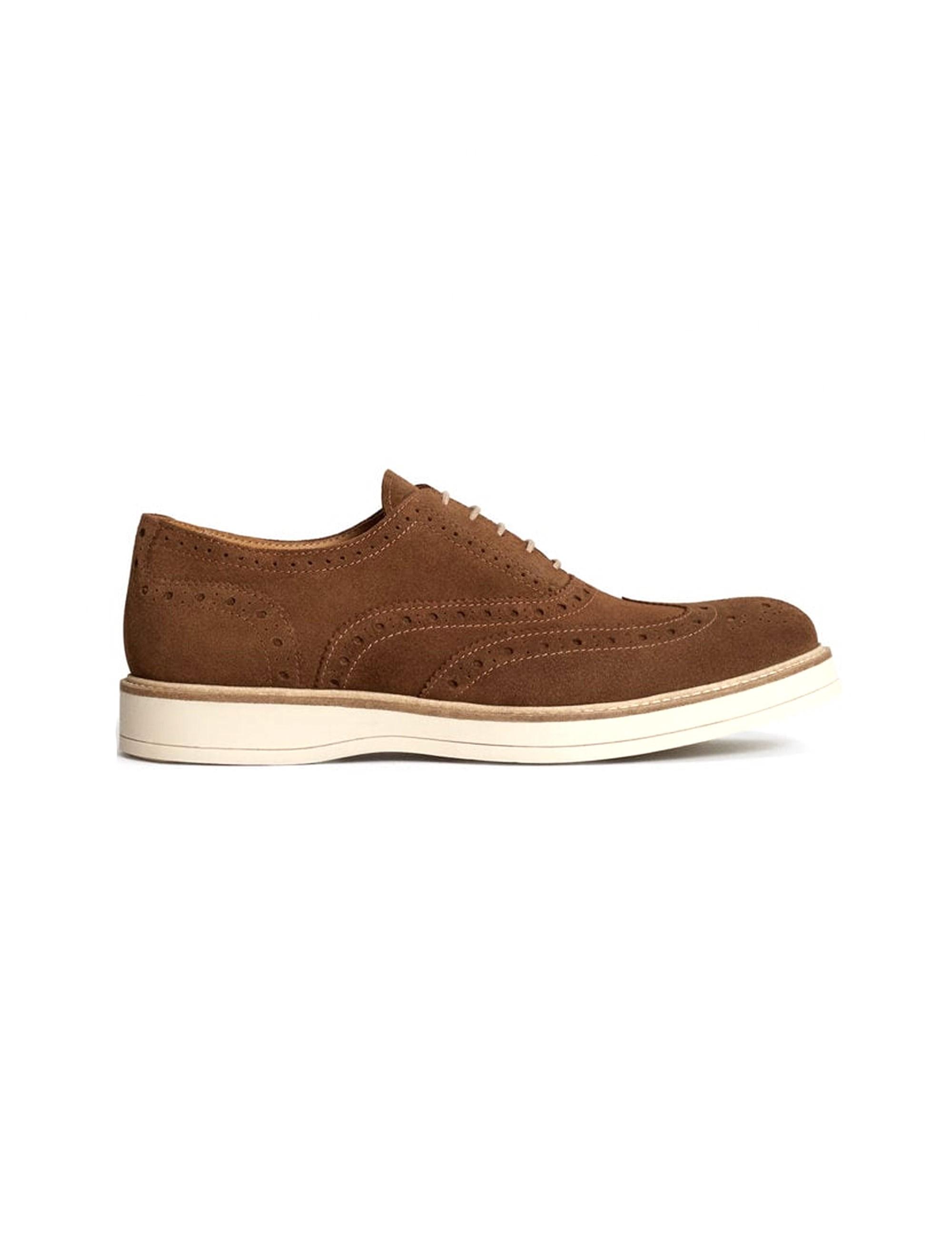 قیمت کفش اداری جیر مردانه - مانگو