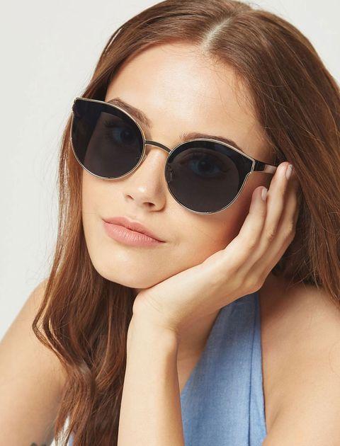 عینک آفتابی پنتوس زنانه - مشکي - 5