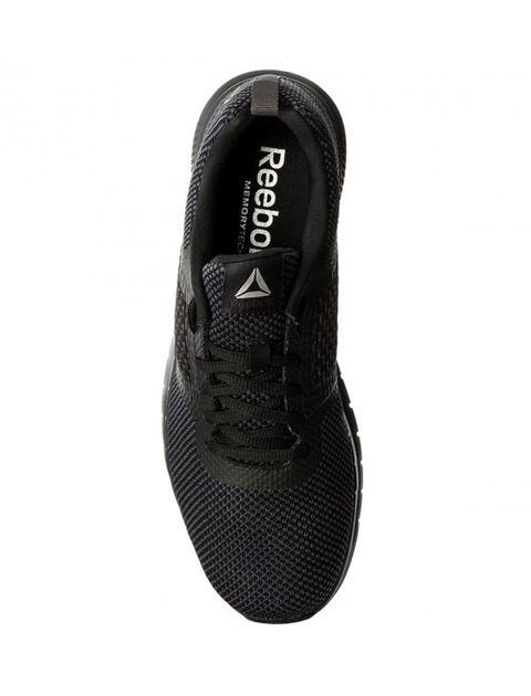 کفش دویدن بندی مردانه - ریباک - مشکي - 2